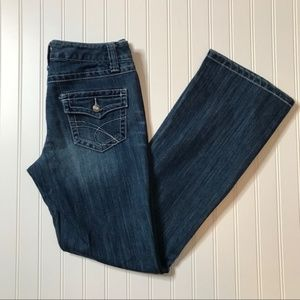 INC Denim Regular Fit Bootleg Jeans 👖 size 6